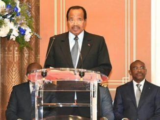 Paul Biya, le président de la République du Cameroun