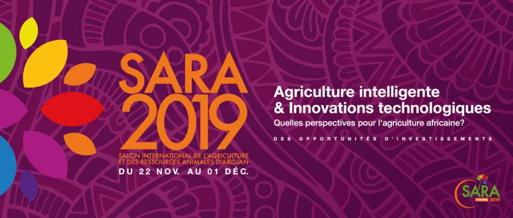 Affiche officielle du SARA 2019
