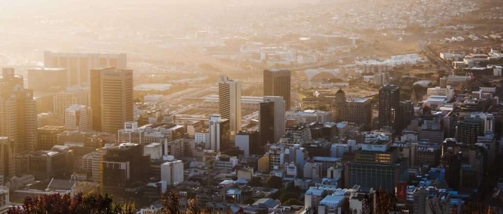 Cape Town, Afrique du sud.