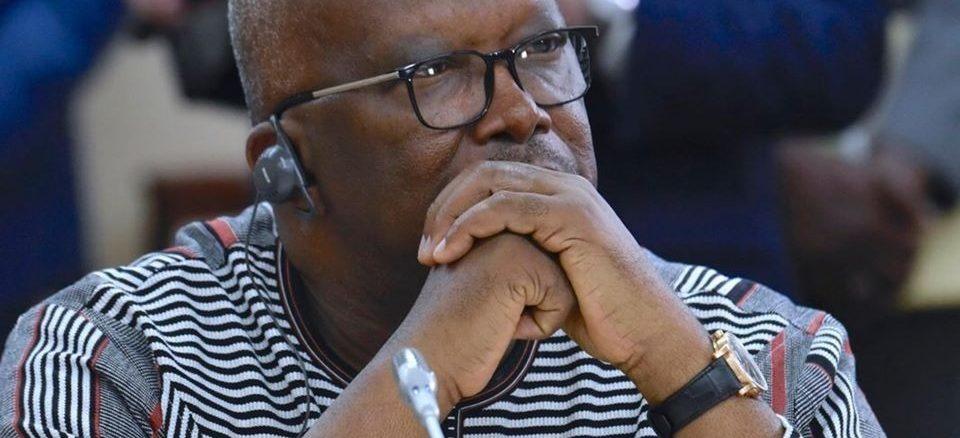 Roch Marc Kaboré, président du Burkina Faso, octobre 2019.