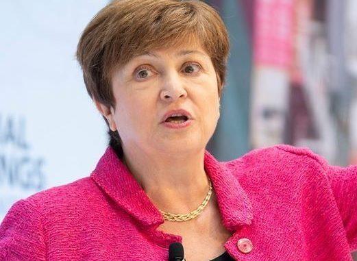 Kristalina Georgieva, directrice générale du FMI.