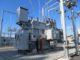 Un poste de distribution d'électricité.
